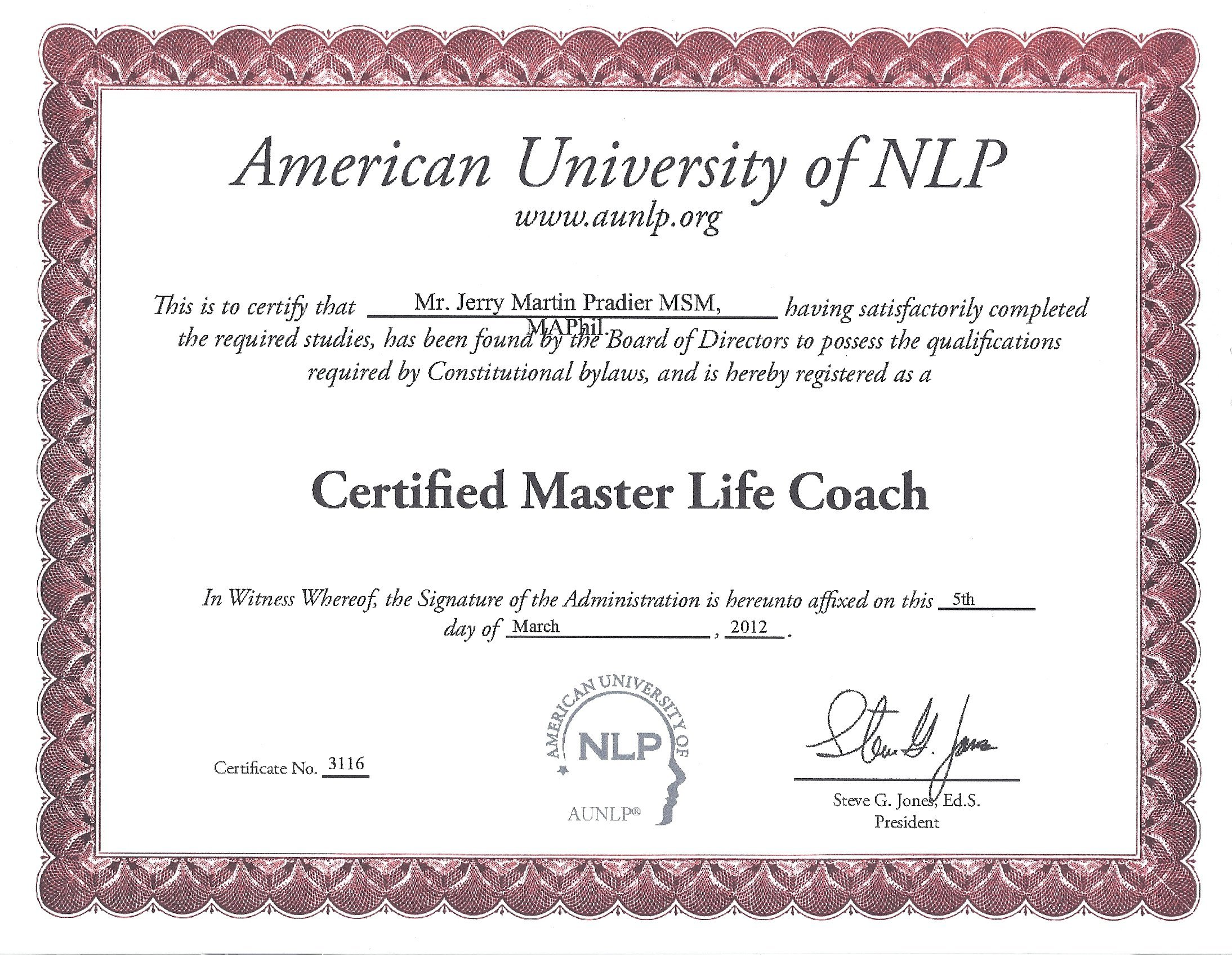 Pbdn news progressive business development network master life coach certification through the american university of xflitez Images